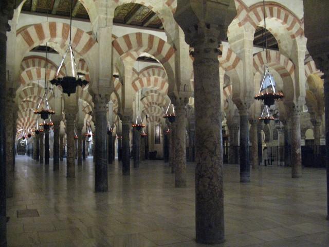 La Mezquita, Cordoba, med de 1000 søjler